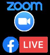 Zoom Facebook Live