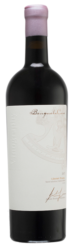 Benguela Cove Vinography Cabernet Franc bottle