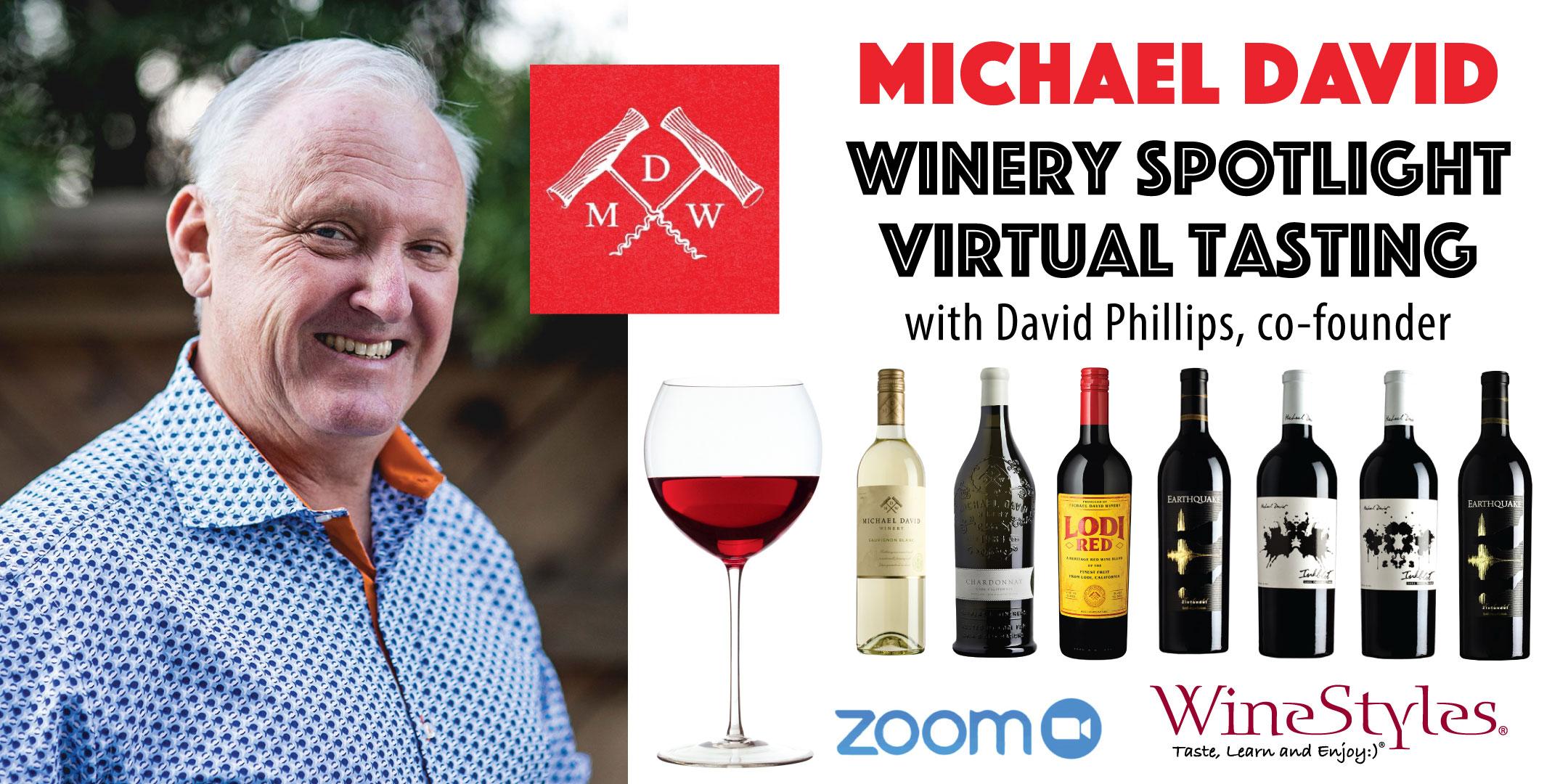 Michael David Winery Wine Tasting