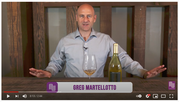 Greg Martellotto video