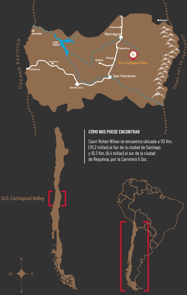 Court Rollan Map