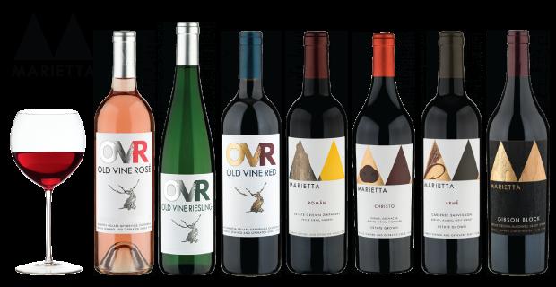 Marietta Cellars Wines Tasted