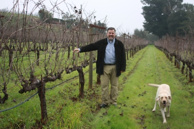 © Photo by Benziger Family Winery of Chris and Bluie